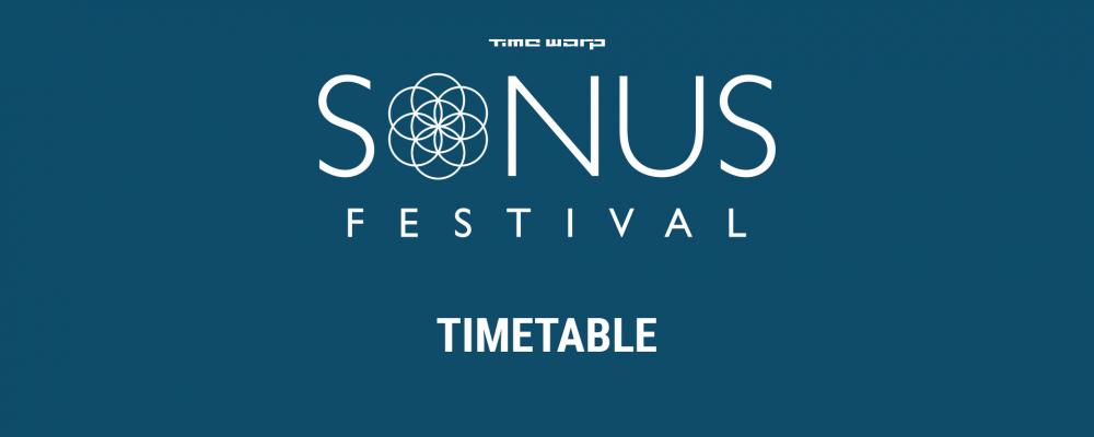Sonus 2017 – Timetable